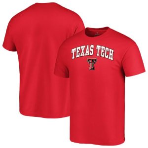 Texas Tech Red Raiders Fanatics Branded Campus T-Shirt - Red