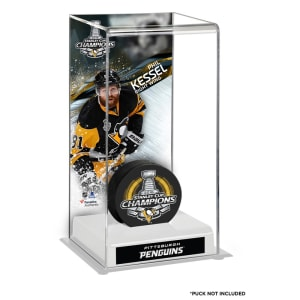 Phil Kessel Pittsburgh Penguins Fanatics Authentic 2016 Stanley Cup Champions Logo Deluxe Puck Case