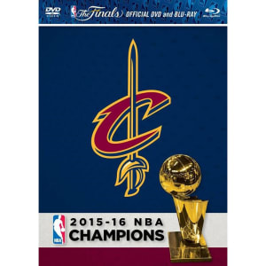 Cleveland Cavaliers 2016 NBA Finals Champions DVD & Blu-Ray Combo Pack