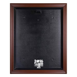 Cleveland Cavaliers Fanatics Authentic 2016 NBA Finals Champions Logo Brown Framed Jersey Display Case