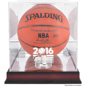 Cleveland Cavaliers Fanatics Authentic 2016 NBA Finals Champions Logo Mahogany Basketball Display Case with Mirrored Back