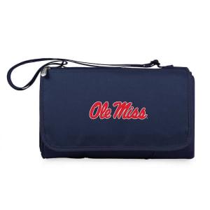 Ole Miss Rebels Outdoor Picnic Blanket Tote - Navy