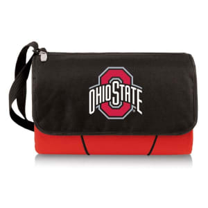 Ohio State Buckeyes Outdoor Picnic Blanket Tote - Red