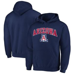 Fanatics Branded Arizona Wildcats Campus Pullover Hoodie - Navy