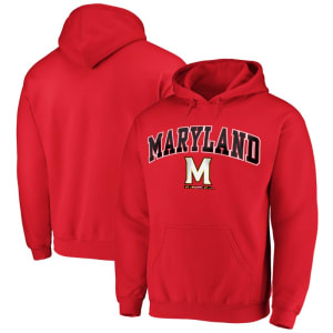Fanatics Branded Maryland Terrapins Campus Pullover Hoodie - Red