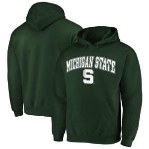 Fanatics Branded Michigan State Spartans Campus Pullover Hoodie - Green