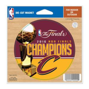 "Cleveland Cavaliers WinCraft 2016 NBA Finals Champions 4"" x 6"" Car Magnet"
