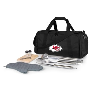 Kansas City Chiefs BBQ Kit Cooler - Black