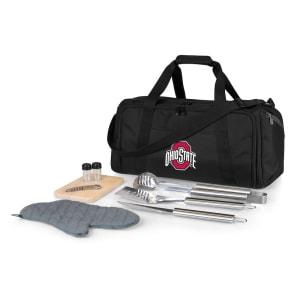Ohio State Buckeyes BBQ Kit Cooler - Black