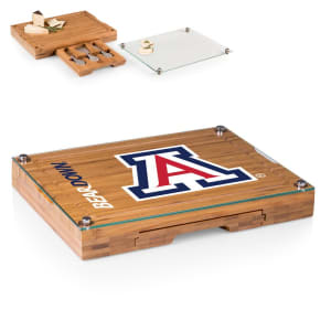 Arizona Wildcats Concerto Cheese Board with Serving Stage and Tools