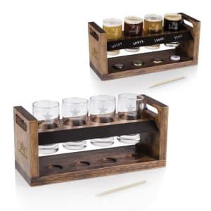 Dallas Cowboys Craft Beer Flight - Brown