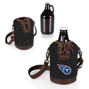 Tennessee Titans Growler Tote with 64oz. Growler - Black