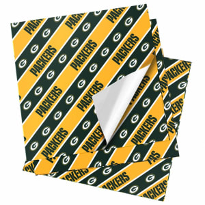 """Green Bay Packers 20"""" x 30"""" Wrapping Paper"""