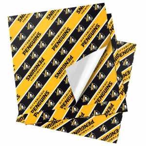 "Pittsburgh Penguins 20"" x 30"" Wrapping Paper"