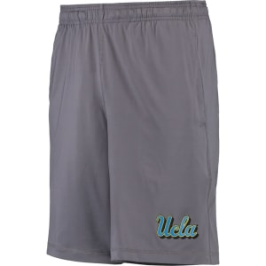 UCLA Bruins Under Armour Raid Solid Performance Shorts - Gray