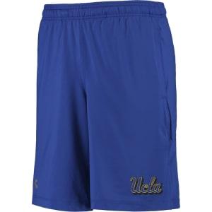 UCLA Bruins Under Armour Raid Solid Performance Shorts - Blue