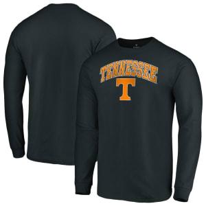 Tennessee Volunteers Fanatics Branded Campus Long Sleeve T-Shirt - Black