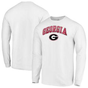Georgia Bulldogs Fanatics Branded Campus Long Sleeve T-Shirt - White