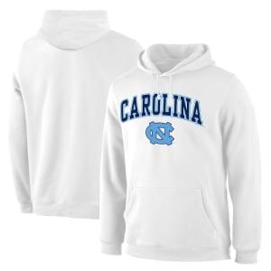 Fanatics Branded North Carolina Tar Heels Campus Pullover Hoodie - White
