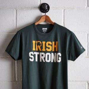 Tailgate Men's Irish Strong T-Shirt Green XS