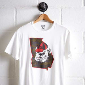 Tailgate Men's Georgia T-Shirt White M
