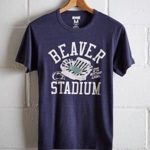 Tailgate Men's PSU Nittany Lions T-Shirt Navy Heather XL