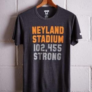 Tailgate Men's Tennessee Neyland Stadium T-Shirt Charcoal M