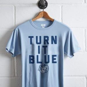 Tailgate Men's UNC Turn It Blue T-Shirt Sky Blue L
