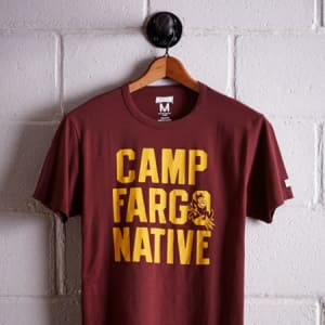 Tailgate Men's ASU Camp Fargo T-Shirt Maroon S