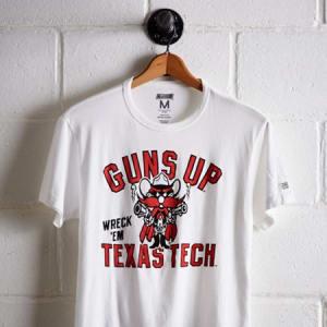 Tailgate Men's Texas Tech Guns Up T-Shirt White S