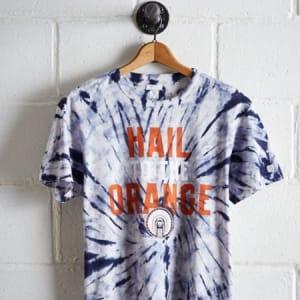 Tailgate Men's Illinois Tie-Dye T-Shirt Blue XXL