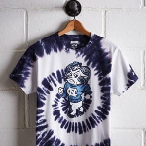 Tailgate Men's Tar Heels Tie-Dye T-Shirt Blue XL