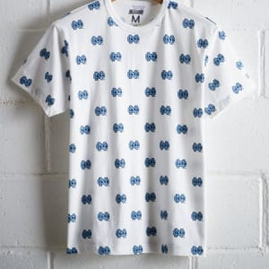 Tailgate Men's UNC All-Over Graphic Tee White M