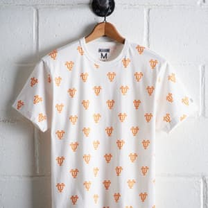 Tailgate Men's Tennessee All-Over Graphic Tee White L