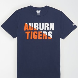 Tailgate Men's Auburn Tigers T-Shirt Blue XS