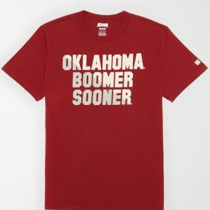 Tailgate Men's Oklahoma Sooners Graphic T-Shirt Red XL