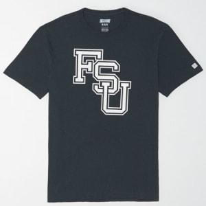 Tailgate Men's Florida State Seminoles Reflective Graphic T-Shirt Storm Dark XS