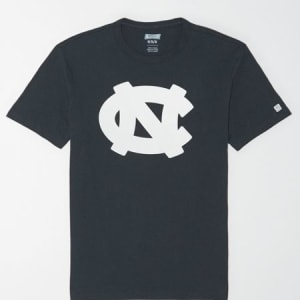 Tailgate Men's UNC Tar Heels Reflective Graphic T-Shirt Storm Dark