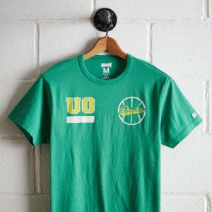 Tailgate Men's Oregon Ducks Basketball T-Shirt Green S