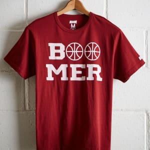 Tailgate Men's Oklahoma Sooners Basketball T-Shirt Red L