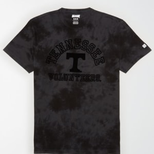 Tailgate Men's Tennessee Volunteers Tonal Dye T-Shirt Bold Black XL