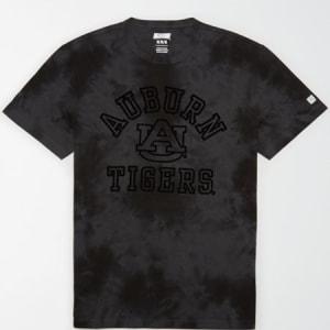 Tailgate Men's Auburn Tigers Tonal Dye T-Shirt Bold Black S