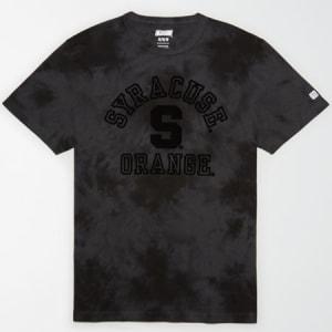 Tailgate Men's Syracuse Orange Tonal Dye T-Shirt Bold Black XXL