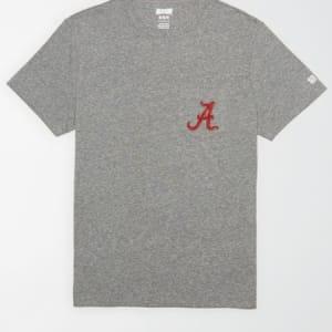 Tailgate Men's Alabama Pocket T-Shirt Gray Heather M