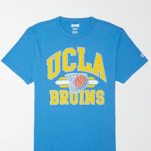 Tailgate Men's UCLA Bruins Basketball T-Shirt Ocean XL