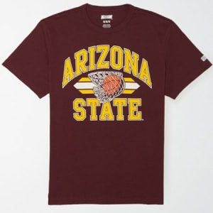 Tailgate Men's Arizona State Sun Devils Basketball T-Shirt Maroon XL