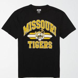 Tailgate Men's Missouri Tigers Basketball T-Shirt Bold Black L