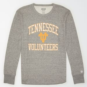 Tailgate Men's Tennessee Volunteers Thermal Shirt Gray Heather XS