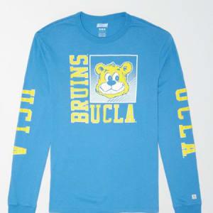 Tailgate Men's UCLA Long Sleeve T-Shirt Ocean XL