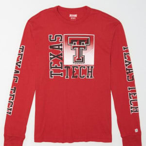 Tailgate Men's Texas Tech Long Sleeve T-Shirt Red L